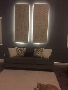 backlit wall panels ideas interior design ideas