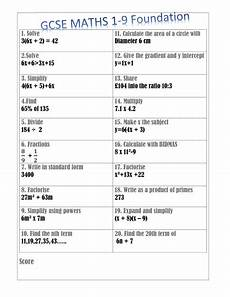 new mathematics 2017 gcse 12 worksheets to test