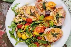 Mediterrane Diät Rezepte - r 252 ckensteak mit tomatengem 252 se rezept fit for