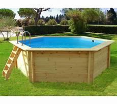 holzpool badespa 223 mit natur optik swimmingpoolguru eu