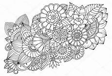 Ausmalbilder Blumenmuster Blumenmuster Zum Ausmalen My Flowers