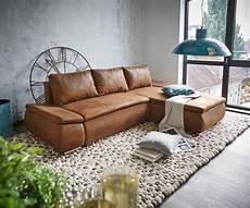 Braunes Sofa Kombinieren - abilene braun 260x175 mit bettfunktion real