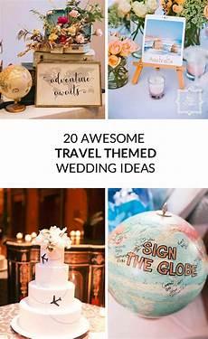 Travel Wedding Theme Ideas