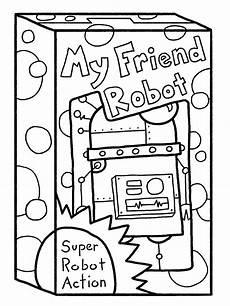 malvorlagen fur kinder ausmalbilder roboter kostenlos