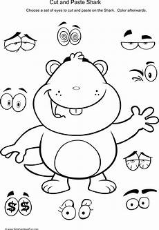 cut and paste motor skills worksheets 20651 cut and paste beaver activity cut out the to paste onto the beaver http www