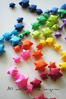 pin by いっちー on ウェルカムスペース 手作り rainbow origami origami