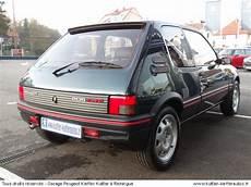 peugeot 205 occasion peugeot 205 gti 1 9l 122cv 1994 occasion auto peugeot