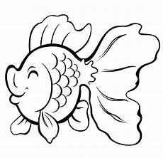 Mewarnai Gambar Ikan Koki Lucu Mewarnai Gambar