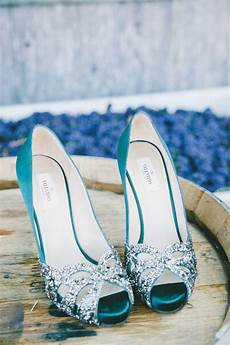 Turquoise Heels For Wedding color inspiration stylish turquoise and teal wedding