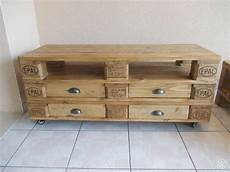 meuble tv et table basse en palette d 233 co