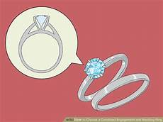 3 ways to choose a combined engagement and wedding ring wikihow