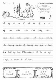 handwriting worksheets year 5 21646 targeting handwriting nsw student book year 6 pascal press educational resources and