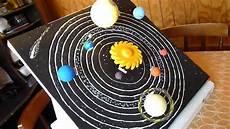 sistema solar giratorio maqueta sistema solar giratorio youtube