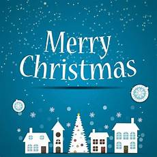 free vector silhouette city merry christmas poster free vector in encapsulated postscript eps