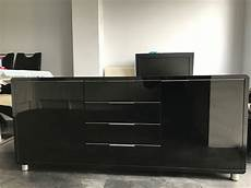 black high gloss sideboard in newton le willows