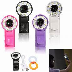 Universal Selfie Ring Flash Wide Angle by Universal Selfie Fill Led Light Ring Flash Wide