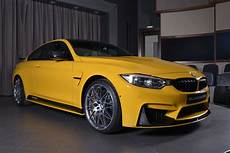 Speed Yellow Bmw M4 Competition Package With Tuning