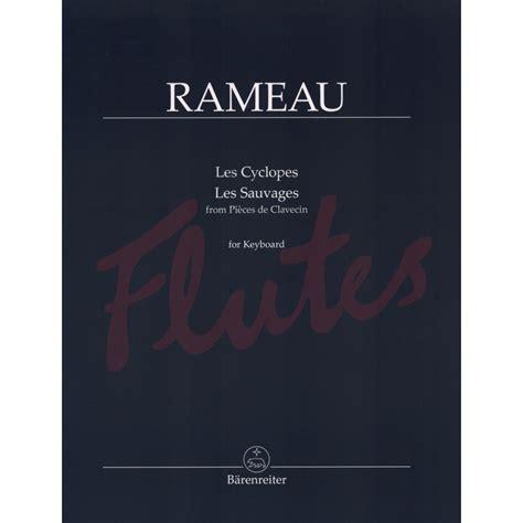 Rameau Les Sauvages Piano