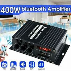 220v 400w Bluetooth Power Lifier Audio 220v 400w bluetooth hifi power lifier mini audio