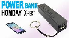 chargeur portable power bank homday x pert