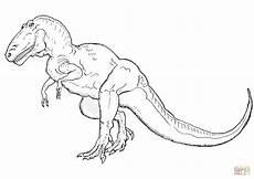 dibujo de tiranosaurio para colorear dibujos para