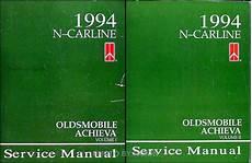 how to download repair manuals 1994 oldsmobile achieva auto manual 1994 oldsmobile achieva shop manual set 94 original repair service books s sl sc ebay