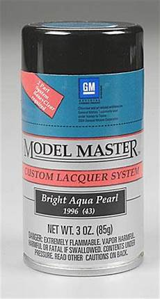 master spray bright aqua pearl 3 oz hobby and