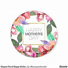 printable mothers day stickers 20598 floral happy s day sticker zazzle happy mothers day happy mothers day