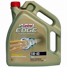 ulei motor castrol edge titanium turbo diesel 5w40 5l