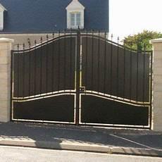 portail en fer leroy merlin portail battant tangara l 350cm x h 212 0cm couleur