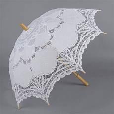 ombrelli trasparenti a cupola 2019 white lace parasol sun umbrella wedding