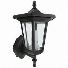 buy smart solar seville lantern outdoor light black at argos co uk your online shop for wall