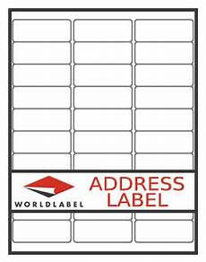 labels cross reference chart for label sizes found in