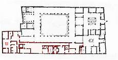 pompeii house plan art history by laurence shafe house of the labyrinth
