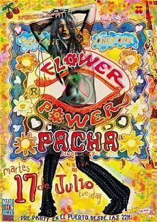 flower power 70er flower power pacha ibiza club posters 2012 2013