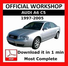 car owners manuals free downloads 2003 audi a6 lane departure warning gt gt official workshop manual service repair audi a6 c5 1997 2005 5010960134474 ebay