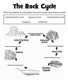 science worksheets rocks 12368 the rock cycle diagram worksheet label rock cycle