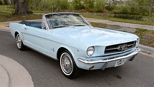 1964 1/2 Ford Mustang Convertible For Sale  YouTube