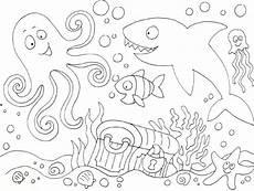 Unterwasser Tiere Malvorlagen Kostenlos Ausmalbilder Unterwasserwelt Kostenlos Malvorlagen Zum