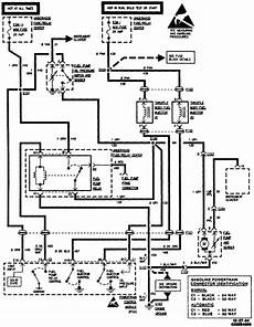 87 chevy 350 4x4 fuel wiring diagram 95 chevy pu 4x4 3 4 ton 4wd changed fuel filter relay what i thought was all th fuses but