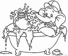 bathroom coloring pages getcoloringpages