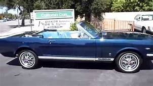 1966 Mustang Covertible  YouTube