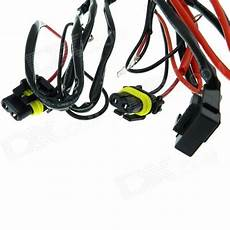 h1 wire harness h1 car hid relay cable wiring harness black 145cm cable free shipping dealextreme
