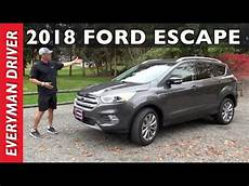 this 2018 ford escape 5 passenger crossover review