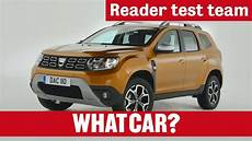 test duster 2018 2018 dacia duster suv reader test team what car