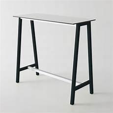 table haute 110 cm step pour bars et restaurants table haute avec structure