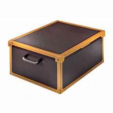 scatole per guardaroba scatole armadio modello color cuoio cm 50x40x25 h