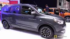 2017 dacia lodgy stepway exterior and interior