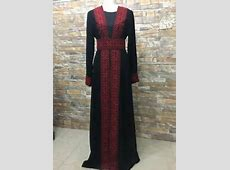 Abaya Thobe Thob Embroidered Palestinian Traditional