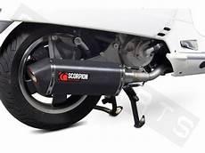 Auspuff Scorpion Rp Serket Black Vespa Gts Gtv 125 Gt 300 I